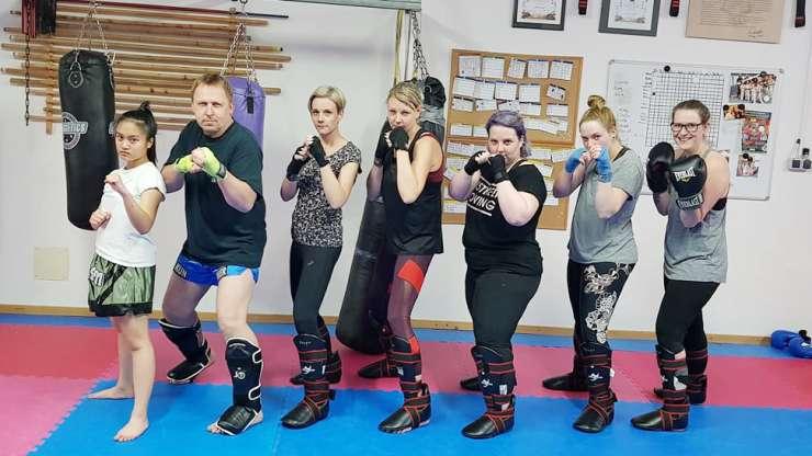 Neues Trainingsangebot: Kickboxen für Frauen